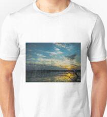 Lake Champlain Vermont Sunrise 2 - Landscape T-Shirt