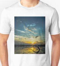 Lake Champlain Vermont Sunrise 2 - Portrait T-Shirt