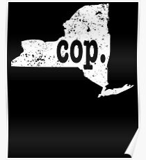 Police Chief Shirt New York Cop Shirt Chief Of Police Poster