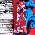 Dresses in a Senegal Breeze by Wayne King