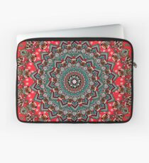 Mandala Christmas Pug Laptop Sleeve
