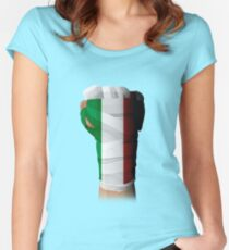 ITALY PRIDE Women's Fitted Scoop T-Shirt