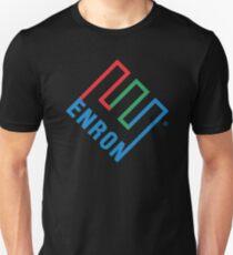 Enron Tshirt - Defunct Company Logo - Corporate Humor Tshirt - Parody Tshirt Unisex T-Shirt