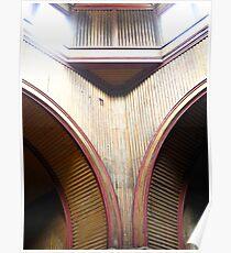 Curve:Old Melbourne Gaol Poster