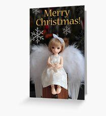 Christmas Angel Card Greeting Card