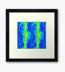 The cosmic microwave background (CMB) is the left-over heat from the Big Bang. Framed Print