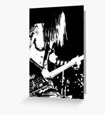 Bassist Greeting Card