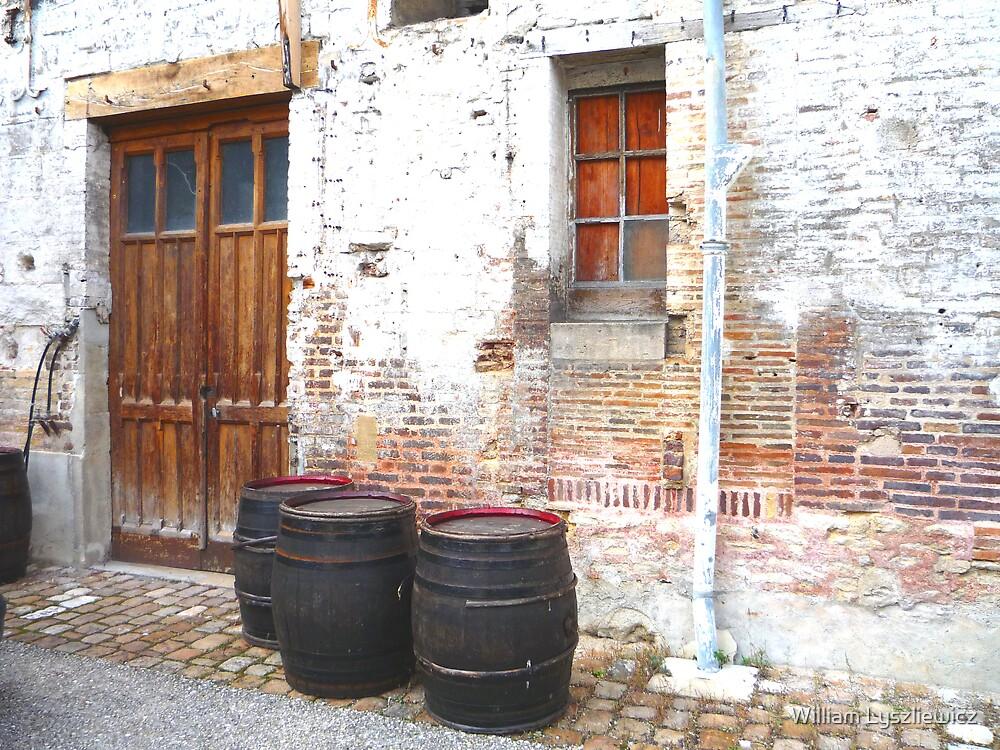 au cellier de Troyes by william lyszliewicz