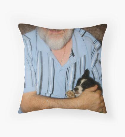 Maximus & Bella Throw Pillow