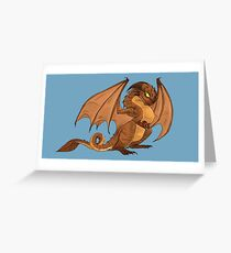 Marsupial Dragon Greeting Card
