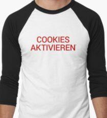 Cookies aktivieren Men's Baseball ¾ T-Shirt