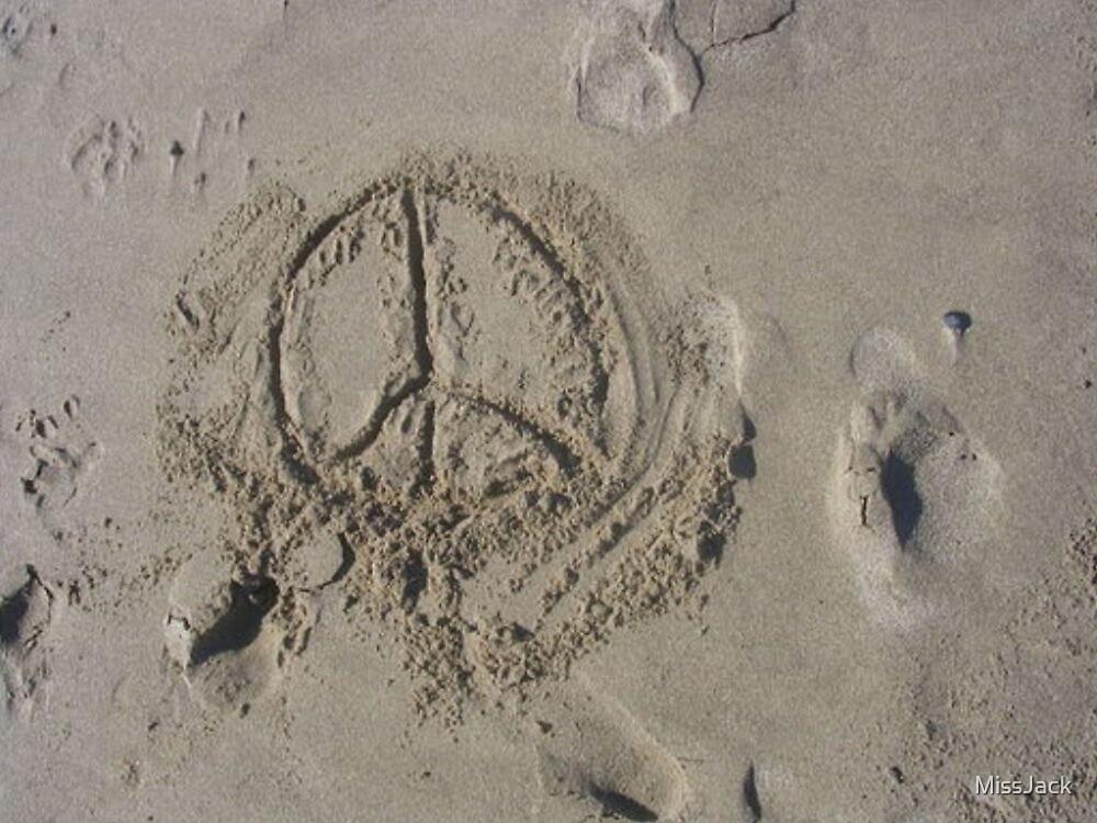 Peace Beach by MissJack