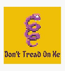 Don't Tread on Coily Photographic Print