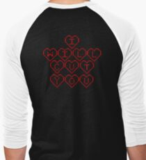 I Will Cut You Red Hearts  T-Shirt