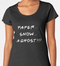 Paper... Snow... A ghost!!! Women's Premium T-Shirt