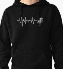 Space Heartbeat Pullover Hoodie
