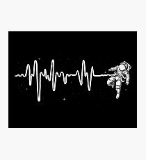Space Heartbeat Photographic Print