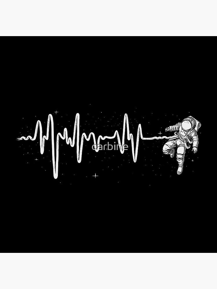 Latido del corazón del espacio de carbine