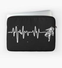 Space Heartbeat Laptop Sleeve