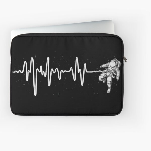 Space Heartbeat Laptop Sleeve