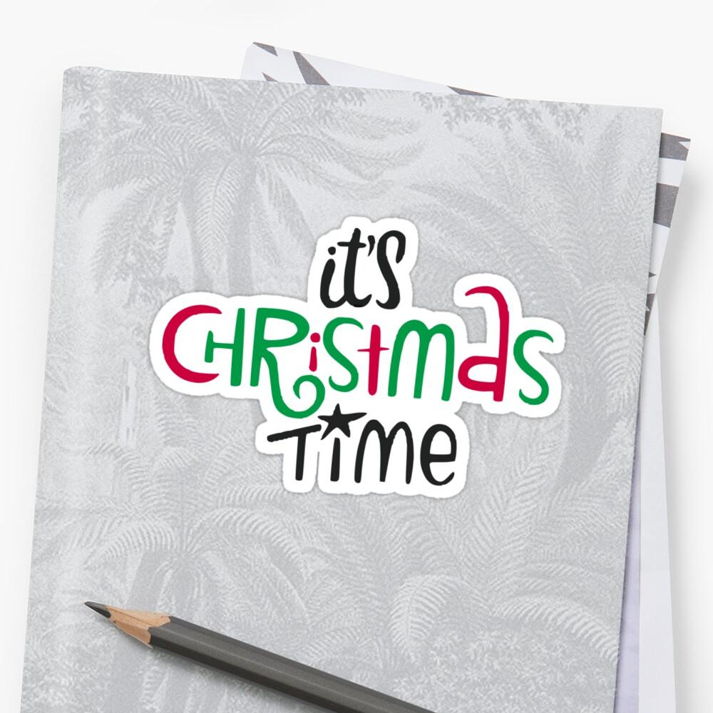 «It's Christmas Time» de Rubén Hoyu