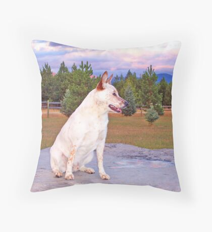 Skeeter Throw Pillow