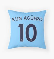 Kun Agüero 2018 Throw Pillow