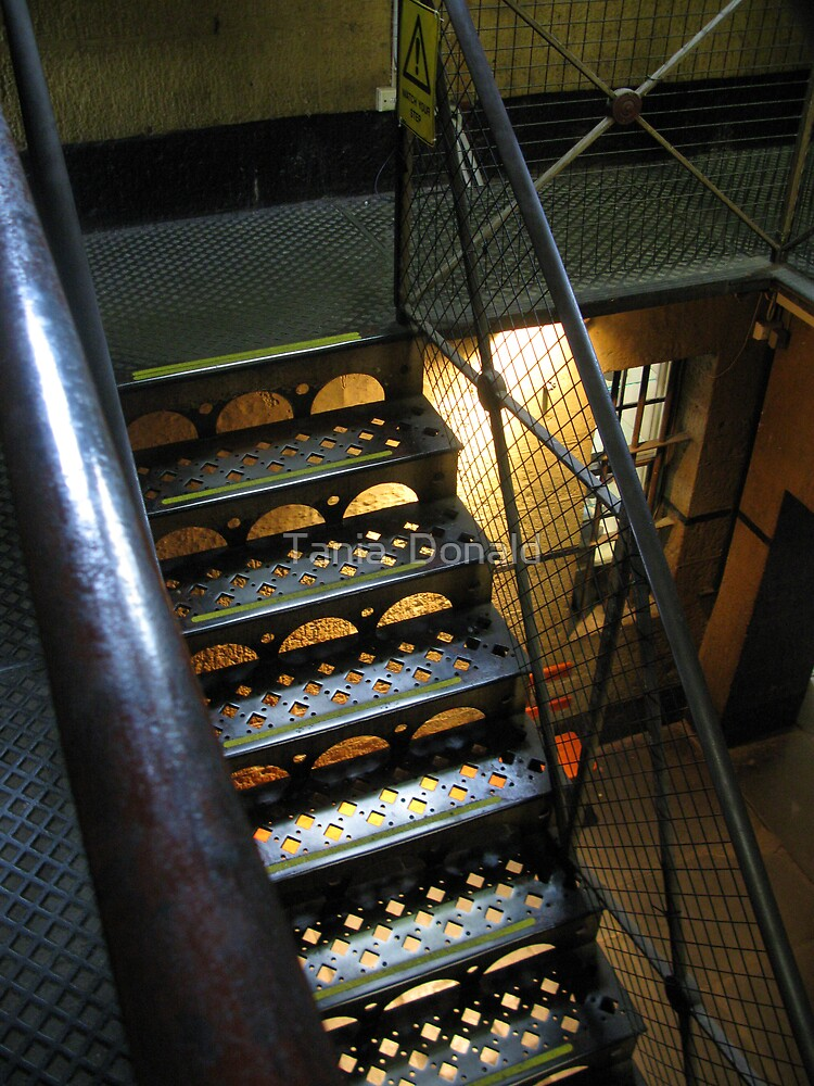 Stairway: Old Melbourne Gaol by Tania  Donald