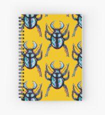 Carabidae: Pincers Poised, Eyes Gleaming (TRANSPARENT VERSION) Spiral Notebook