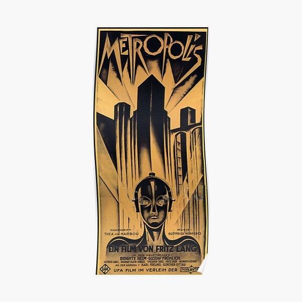 Metropolis - Fritz Lang, movie Poster