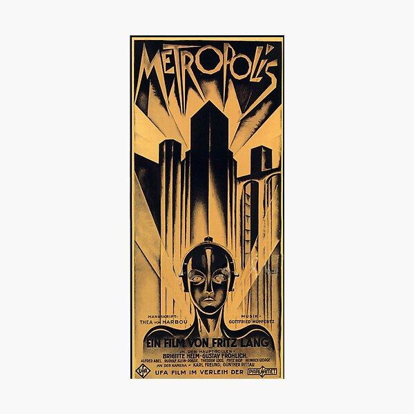 Metropolis - Fritz Lang, movie Photographic Print