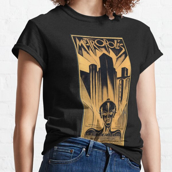 Metropolis - Fritz Lang, movie Classic T-Shirt