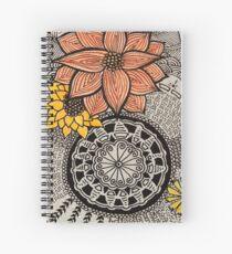 Drei Blumen Spiral Notebook
