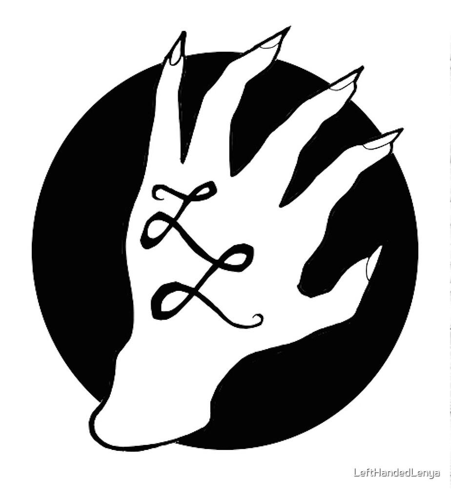 Lefthanded Lenya - official claw logo by LeftHandedLenya