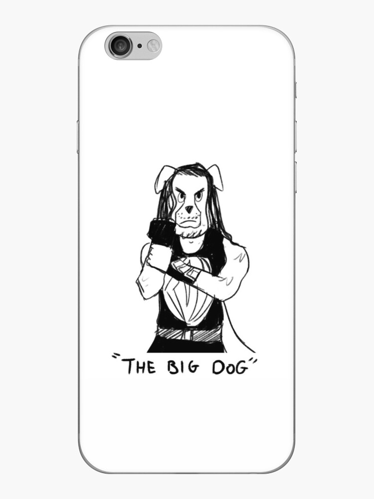 The Big Dog Iphone Case By Tchuzzle