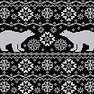 Polar bears jacquard by olgart