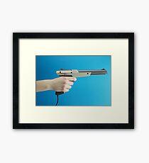 Zap Dem Ducks! Framed Print