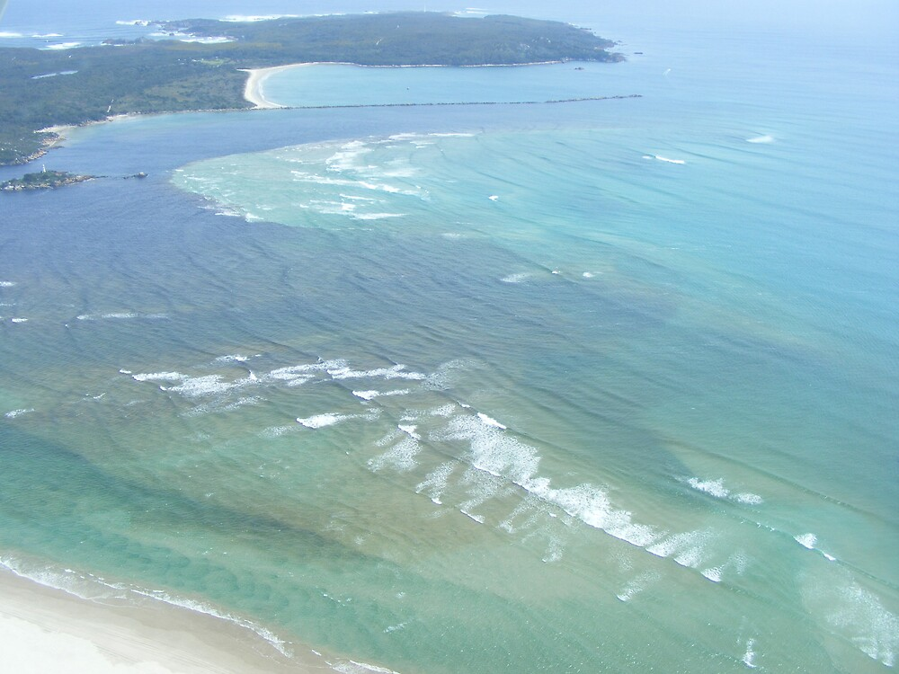 Hell's Gates, Strahan, Tasmania - and treacherous sandbars by gaylene