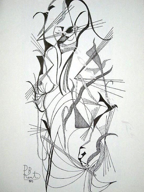 Hoo! nude girl 2 by Paul Bonnie Kent