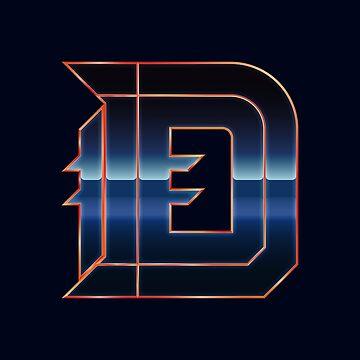 Detroit | The D (Chrome I) by NormalSizedDeet
