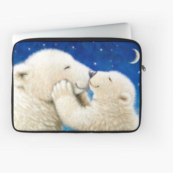 POLAR BEAR LOVE Laptop Sleeve