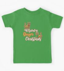 Meowy Ginger Christmas Kids Clothes