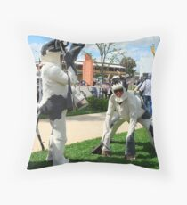 Mad Cow... Throw Pillow