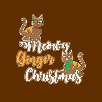 Meowy Ginger Christmas by rivermill