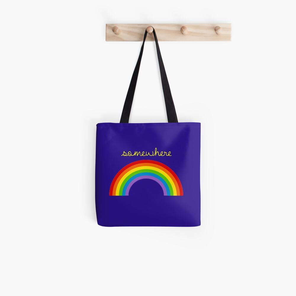 Irgendwo über dem Regenbogen Stofftasche