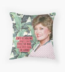 Blanche Devereaux 2 Throw Pillow