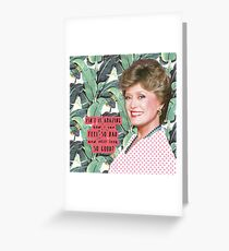 Blanche Devereaux 2 Greeting Card