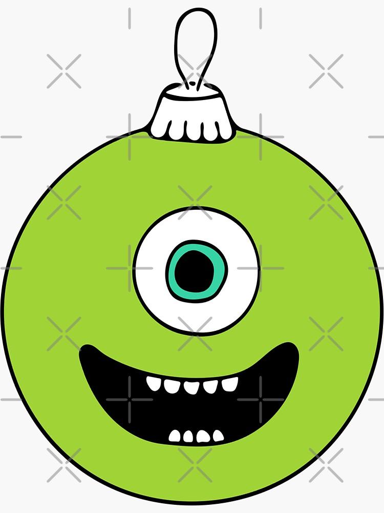 Mike Wazowski Xmas Ball de rubenhoyu