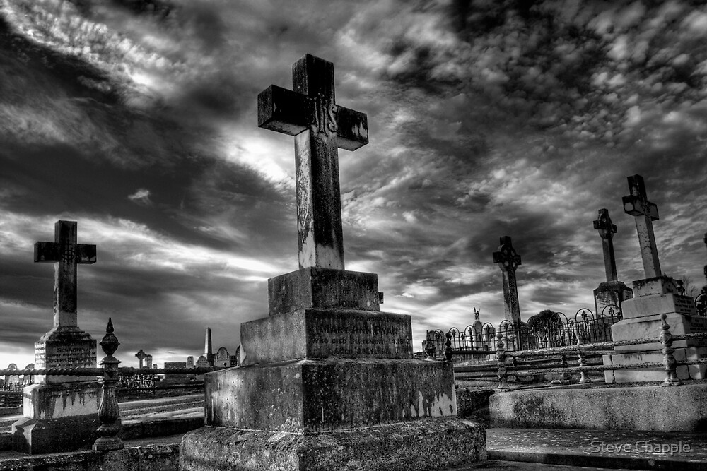 The Cemetery  by Steve Chapple