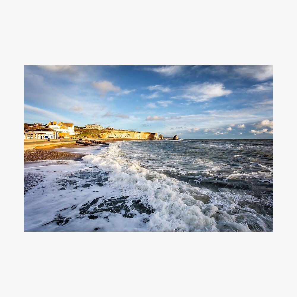 Freshwater Bay Beach Isle Of Wight Photographic Print